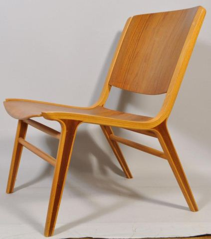 Peter Hvidt & Orla Molgaard Nielsen Ax Chair - armless version (courtesy Westport Auction)