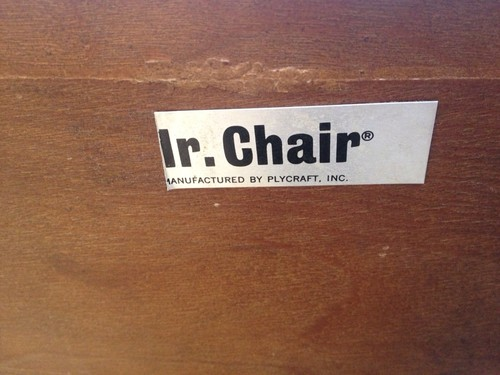 Mr. Chair label