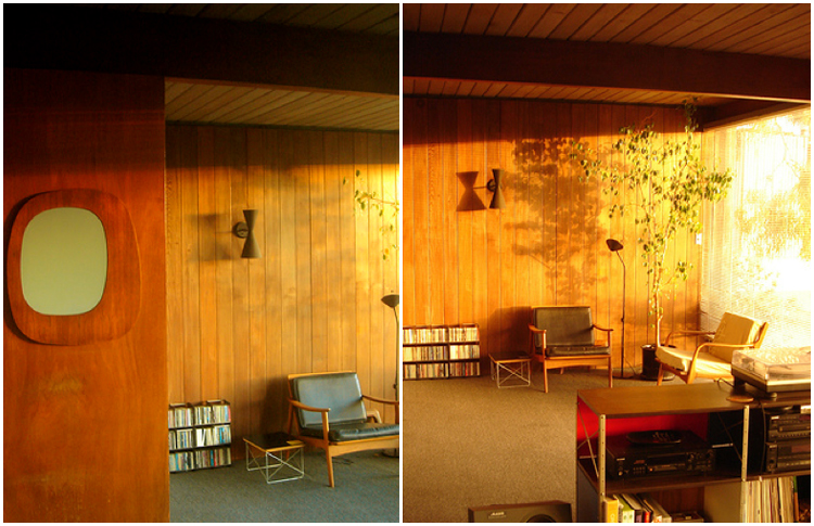 Wood Paneling And Afternoon Sun 171 The Mid Century Modernist