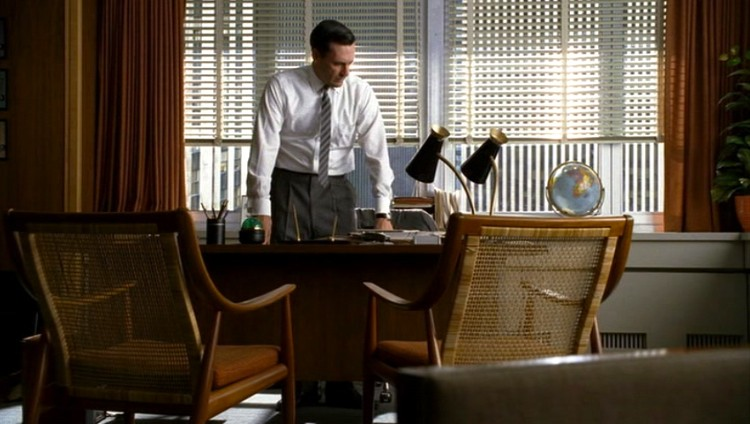 Mad Men Furniture Don Drapers Office The Mid Century Modernist