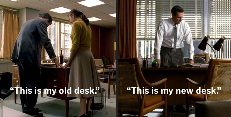 Mad Men Furniture: Don Draper's Office