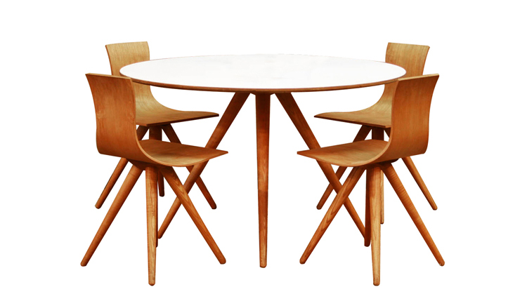 Unusual_Swiss_Bent_Plywood_Dining_Set_(Table_&_4_Chairs)_41797