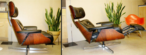 Speaking ... & Plycraft Eames-style Recliner with Built-in Footrest « The Mid ... islam-shia.org