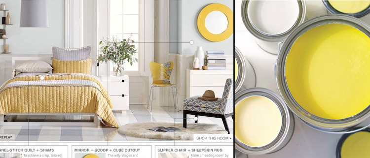 West elm yellow the mid century modernist for West elm yellow chair