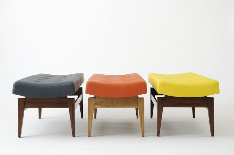 Risom reborn rocket and benchmark reissue nine jens risom for Iconic mid century modern furniture