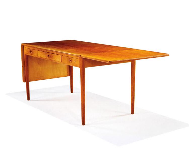 Hans Wegner Dropleaf Desk