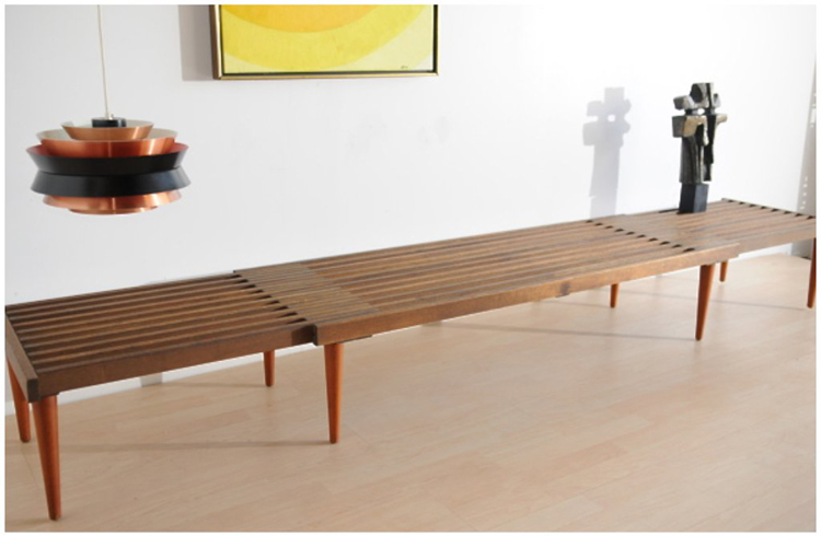 Grandaddy Of Expanding Slat Tables 171 The Mid Century Modernist