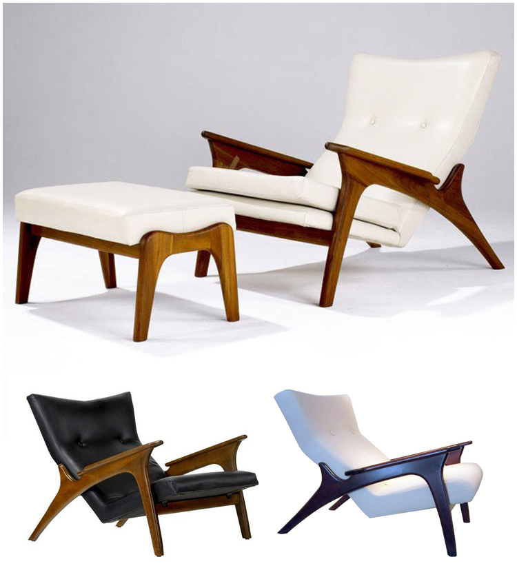 Mid Century Modern Furniture Designers: Adrian Pearsall Lounge Chair For Craft Associates « The